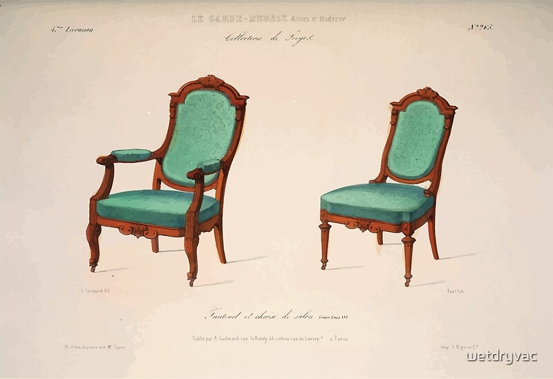 Le garde meuble desire guilmard 1839 0119 high style seat for Le meuble villageois furniture