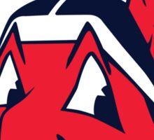 Cleveland Indians logo Sticker