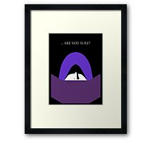 The Game Master's Mantra Framed Print