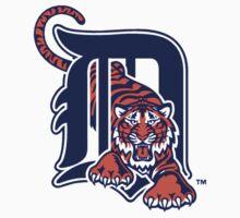 Detroit Tigers logo by Mendem