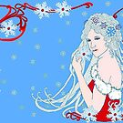 Crystal Snowflakes by redqueenself