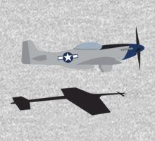 "P-51 Mustang ""Scramble Takeoff"" #2 Kids Clothes"