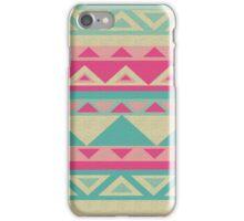 Cool fun triangle pattern  iPhone Case/Skin