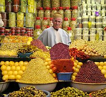 THE OLIVE MAN - MOROCCO by Michael Sheridan