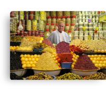 THE OLIVE MAN - MOROCCO Canvas Print