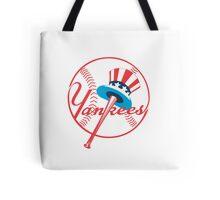 New York Yankees logo Tote Bag
