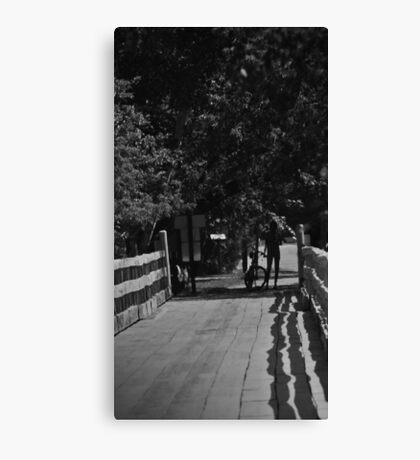 """The Cyclist"" Canvas Print"