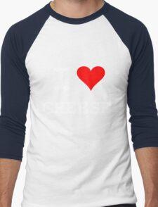 I Love Cheese Men's Baseball ¾ T-Shirt