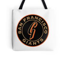 San Francisco Giants logo Tote Bag