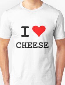 I Love Cheese (dark lettering) T-Shirt