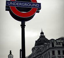 London underground by Ben Jones
