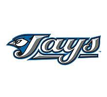 oronto Blue Jays logo Photographic Print