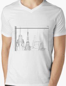 Raw Design Mens V-Neck T-Shirt
