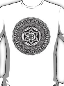 """The Heart"" Sacred Geometry Mandala T-Shirt"