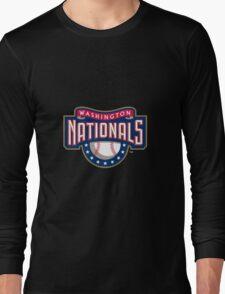 Washington Nationals logo Long Sleeve T-Shirt