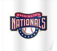 Washington Nationals logo Poster