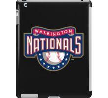 Washington Nationals logo iPad Case/Skin