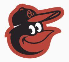 Baltimore Orioles logo1 One Piece - Short Sleeve