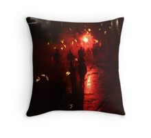 Final Salute (Lewes Bonfire 2010) Throw Pillow