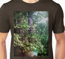 Magical Woodland Beauty in Boothbay Unisex T-Shirt