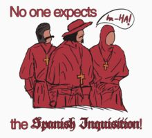 Who expects the Spanish Inquisition? by bd0m