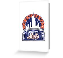New York Mets logo 1 Greeting Card