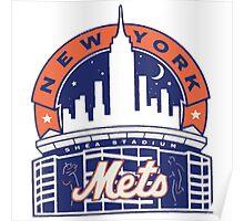 New York Mets logo 1 Poster