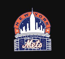 New York Mets logo 1 Women's Fitted Scoop T-Shirt