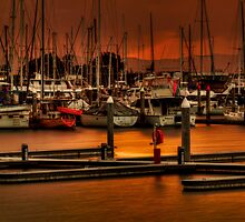 Hulls & Masts by GeoffSporne