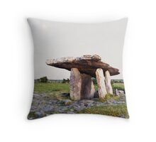 Poulnabrone Dolmen Throw Pillow