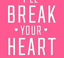 Pink Heartbreaker Victoria Secret by meghanweston