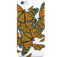 Monarch Butterflies - Migration iPhone Case/Skin