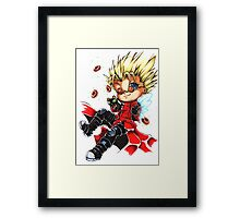 Vash the Stampede & Kuroneko Framed Print