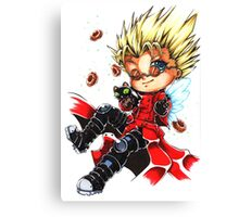 Vash the Stampede & Kuroneko Canvas Print