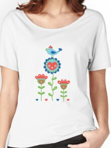 Happy - sweet print - multi Women's Relaxed Fit T-Shirt