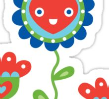 Happy - sweet print - multi Sticker