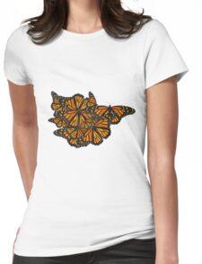 Monarch Butterflies - Friends I Womens Fitted T-Shirt