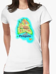 Penguin - Tasmania Womens Fitted T-Shirt