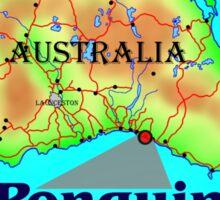 Penguin - Tasmania Sticker