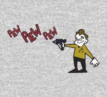 Pew Pew Kirk Kids Tee