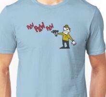 Pew Pew Kirk Unisex T-Shirt