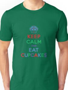 Keep Calm and Eat Cupcakes - primary Unisex T-Shirt
