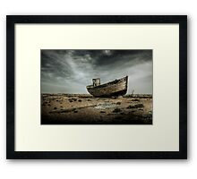 Dungeness Relic Framed Print