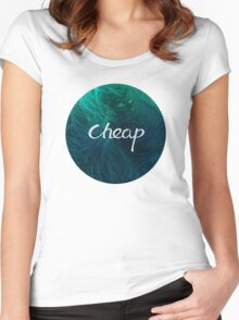 Cheap Women's Fitted Scoop T-Shirt