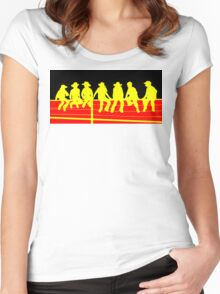 Junior Cowboys Women's Fitted Scoop T-Shirt