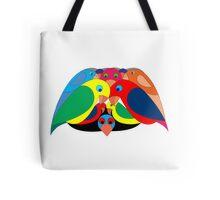 Colourful parrots Tote Bag