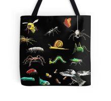 Creatures wallpaper Tote Bag