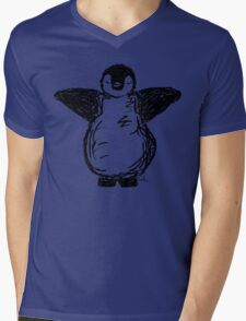 Penguin hug! Mens V-Neck T-Shirt