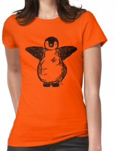 Penguin hug! Womens Fitted T-Shirt