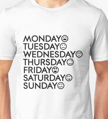 Typical Week Unisex T-Shirt